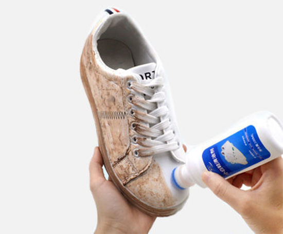 Picture of 1Pc Shoes Cleaning Detergent Whitening Durable Functional Cleaning Spray Abluent - Size: 100ml