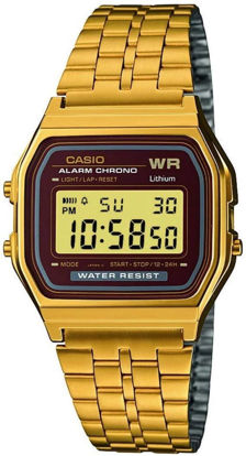Picture of Casio Men's 33mm A159WGEA 5DF Stainless Steel Watch Gold