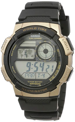 Picture of Casio Youth-Digital Digital Black Dial Men's Watch - AE-1000W-1A3VDF (D122)