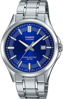 Picture of CASIO Mens Analogue Quartz Watch with Stainless Steel Strap MTS-100D-2AVEF