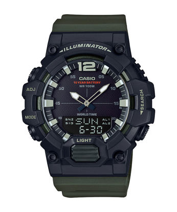 Picture of Casio Men's Dial Resin Band Watch - HDC-700-3AVDF