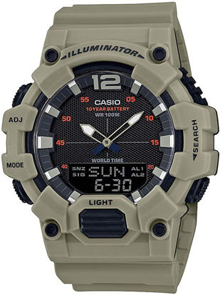Picture of Casio Mens Quartz Watch, Analog-Digital Display and Resin Strap HDC-700-3A3VDF