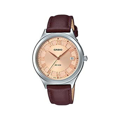 Picture of Casio Analog Rose Gold Dial Women's Watch-LTP-E141L-5AVDF (A1593)