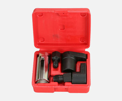 Picture of 5 Pcs Oxygen Sensor Socket Wrench And Tread Chaser ToolKit Fit For All Auto O2 Socket Removal