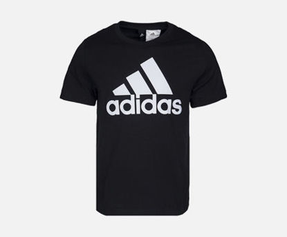 Picture of Adidas ESS LINEAR TEE Men's T Shirt O Neck Logo Print Top