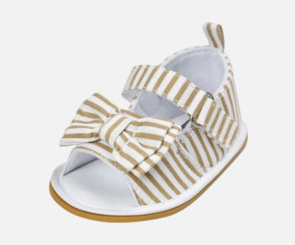 Picture of Baby Girl's Sandals Color Block Cute Baby Shoes