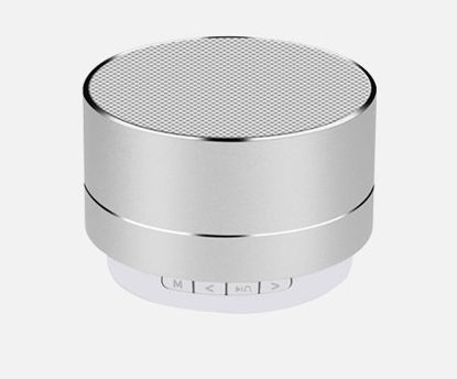 Picture of Bluetooth Speaker Wireless Metallic Rechargeable Speaker -