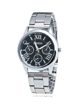 Picture of Men's Simple Watch Classical All Match Steel Chain Watch - One Size