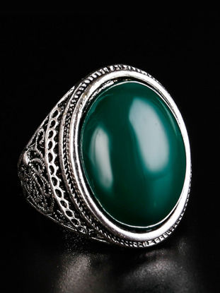 Picture of Men's Vintage All Match Ring Fashion Exquisite Ring Male Jewelry - 9