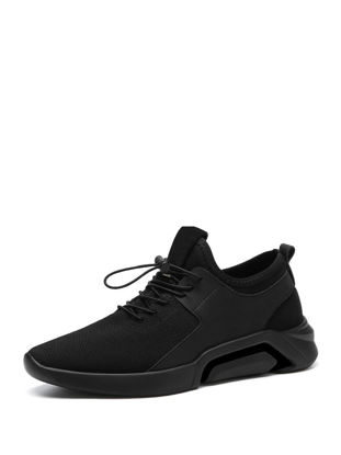 Picture of Men's Sports Fashion Shoes Lightweight Breathable Wearable Damping Comfy Shoes - 42