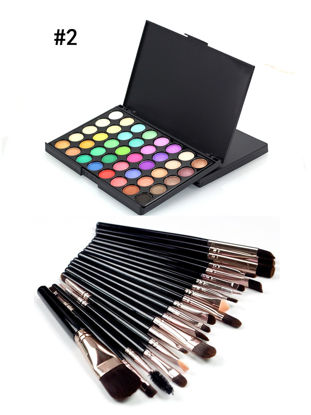 Picture of SWF Professional Makeup Kits 20 Piecess Cosmetic Brush Sets + 40 Colors Waterproof Lasting Shadow Palette