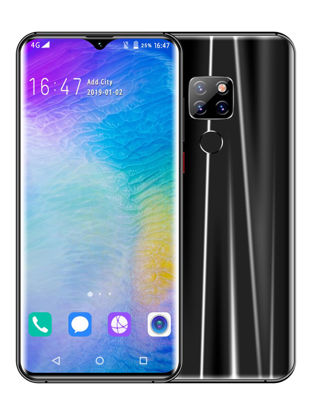 Picture of Huitton Mate 20 6.3-Inch Android 8.0 2GB RAM 16GB ROM  5MP+8MP Camera 3G Mobile Phone EU Plug - Type:UK