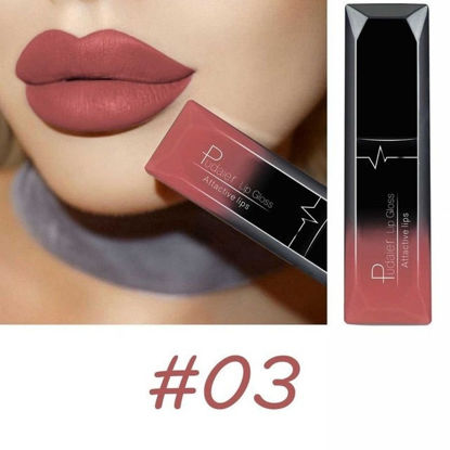 Picture of Women's Matte Lip Gloss Lasting Non-sticky Matt Liquid Lipstick