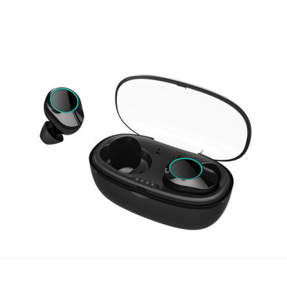 Picture of KUMI G05 TWS Bluetooth Headphones Mini Portable True Wireless Earphones With Charging Box
