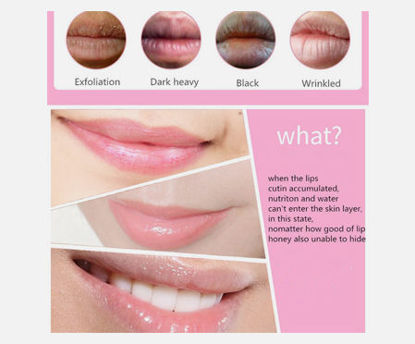 Picture of BIOAQUA Womne's 10 Pieces Lip Masks Collagen Nourishing Hydrating Lip Membrane Lip Care