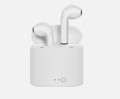 Picture of Earphone Smart Dual-Ear Stereo In-Ear Headphone With Charging Box