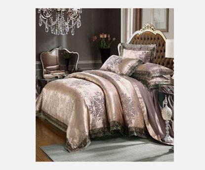 Picture of Duvet Cover Set Jacquard Designed Soft Comfy Bedding Set - Size: 2#0m Bed