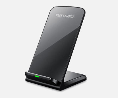 Picture of Fast Qi Wireless Charger Ultra Slim Wireless Charging Pad For iPhone and Samsung