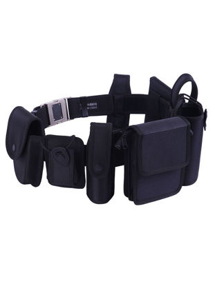 Picture of 8Pcs Men's Tactical Combination Belt Multi-function Male Casual Training Belt -Size: One Size