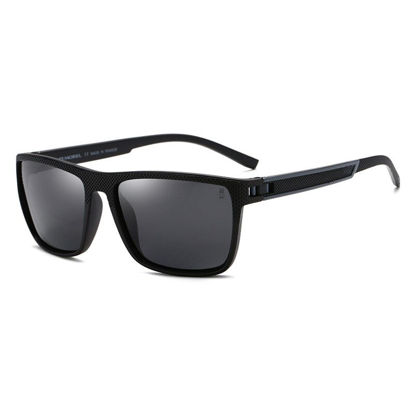 Picture of ZORAVIA Men's Fashion Sunglasses Square Shape Full Frame Polarized Light Sunglasses Accessory -Size: One Size