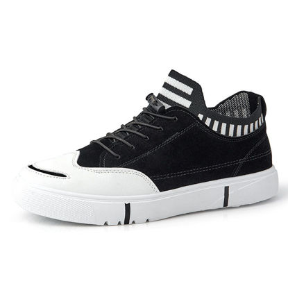 Picture of Men's Sports Shoes Fashion Lacing Anti-Skidding Breathable Shoes -Size: 41