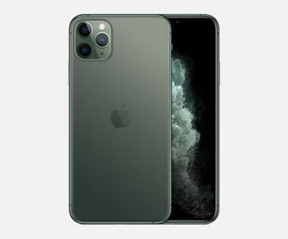 صورة iphone 11 pro max 256 arabic - Green/ Black - 1SIM