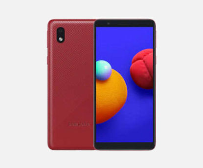 Picture of Samsung  Galaxy A01 Core 16GB  Black & Blue & Red