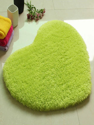 Picture of Door Mat Sweet Heart Shape Cute Home Decor Floor Mat - Size: 70*80(W*L)cm