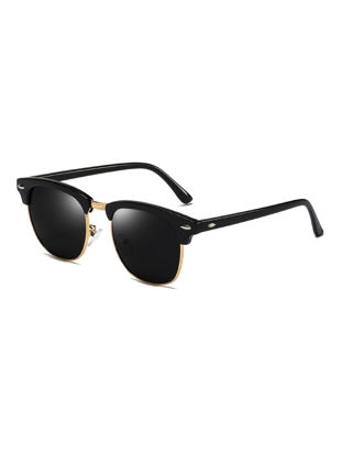 Picture of Men's Sunglasses Windproof Anti-UV Polarized Retro Style Classic Sunglasses Accessory - Size: One Size