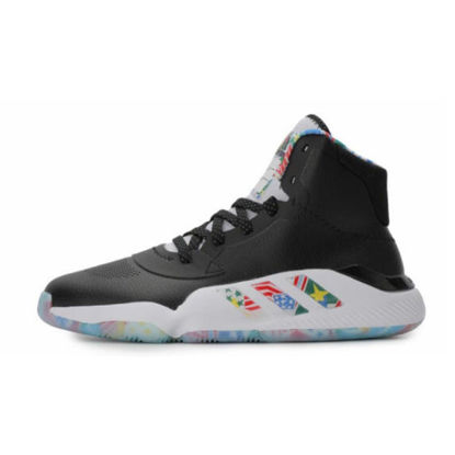 Picture of Adidas Men's Training Shoes High Top Waterproof Anti-Skid Damping Basketball Shoes - Size: 44