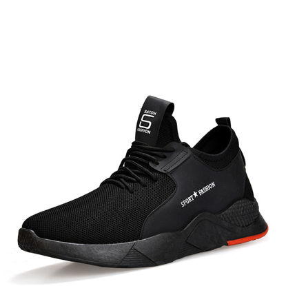 Picture of Men's Running Shoes Comfortable Lacing Anti-Skidding Shoes - Size: 39