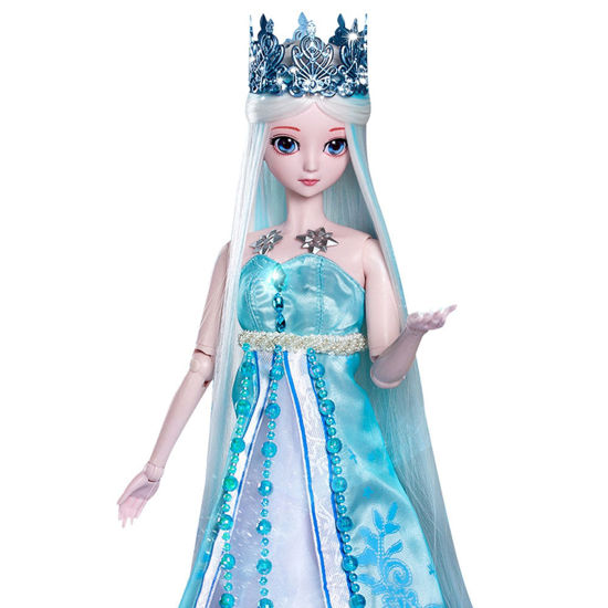 Picture of Dress Up Doll Change Elegant Dress Princess Cute Doll