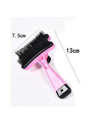 Picture of 1Pc Pet Dogs Comb Multi Functional Durable Professional Puppy Cat Hair Grooming Slicker Comb - Size: One Size