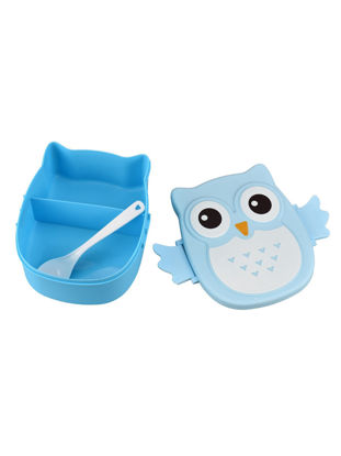 Picture of 1Pc Lunch Box Cartoon Owl Shape Design Adorable Durable Lunch Box - Size: One Size