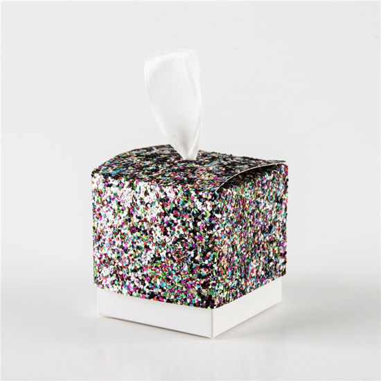 Picture of 25Pcs Sugar Boxes Creative Favors Birthday Party Gift Boxes - Size: One Size