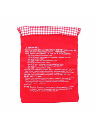 Picture of Potato Bag Washable For Microwave Oven Quick Fast Cooking Bag