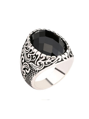 Picture of Men's Ring Carving Exquisite Leisure Vintage Comfy Jewelry Accessory - 9