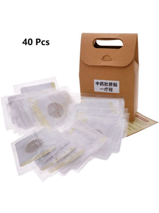 Picture of 40Pcs Traditional Medicine Slim Slimming Navel Patch Weight Loss Adhesive Pads