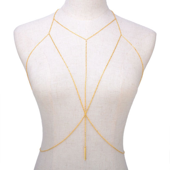 Picture of Women's Body Chain Simple All Match Solid Color Accessory - Resizable