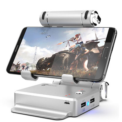 صورة Gaming Converter Stand Docking For FPS Games Portable Mobile Phone Holder