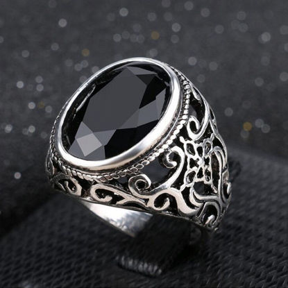 Picture of Men's Ring Oval Shape Fashion Accessory - 9
