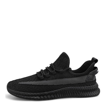 Picture of Men's Running Shoes Light Weight Breathable Anti-skidding Trendy Shoes - 41