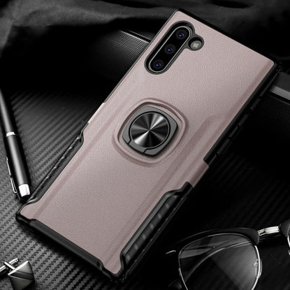 Picture of Samsung Galaxy Note 10 Pro/S10 Plus/S8/S9 Plus/A80 Phone Cover With Ring Holder Armor Case Cover - Samsung Galaxy A80