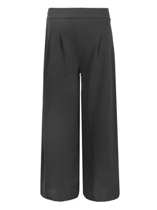 Picture of Women's Casual Pants OL Style Solid Color High Waist All Match Wide Leg Pants - XL