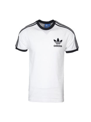 Picture of Adidas Men's T Shirt Simple Logo Print O Neck Classic Breathable Trendy Top - XL