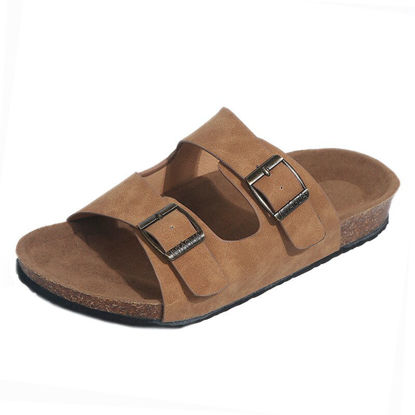 Picture of Women's Open Toe Slippers Casual Comfortable Beach Shoes - 41