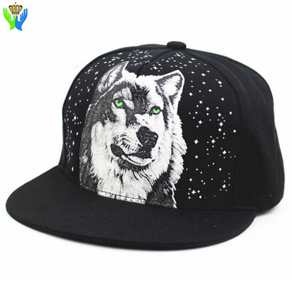 Picture of Unisex Baseball Cap Animal Pattern Patchwork Design Punk Breathable Hat Accessory - One Size