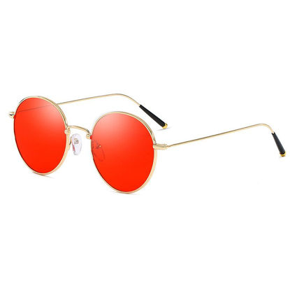 Picture of Men's Sunglasses Polarized Round Circle Glasses Accessory - One Size