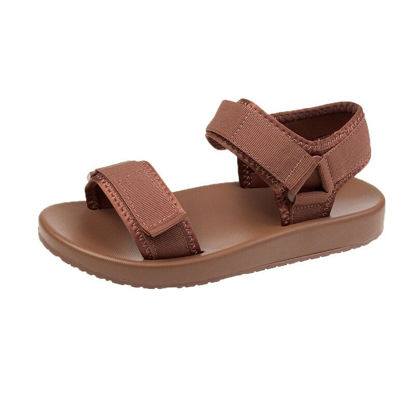 Picture of Women's Flat Sandals Fashion Lightweight Simple Breathable Casual Shoes - 41