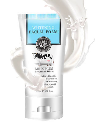 Picture of Women's Milk Plus Facial Cleanser Whitening Oil Control Face Wash 100g